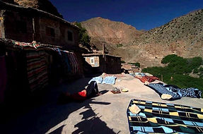 Viaggio trekking in Marocco sul Jebel Toubkal | Terrazza