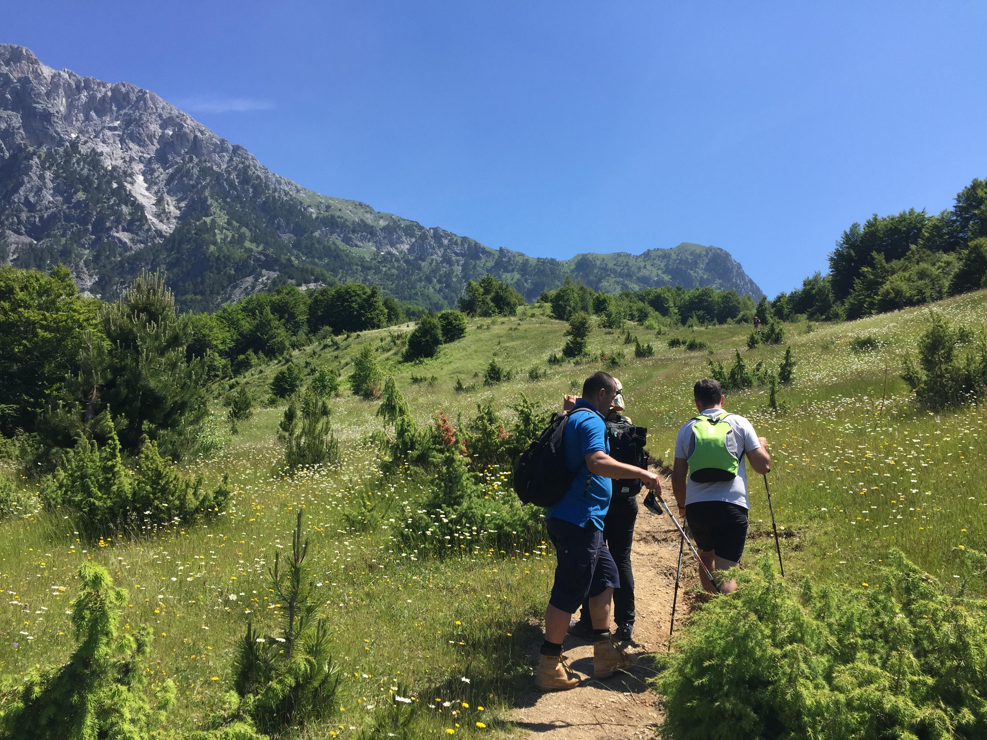 Sentieri delle Alpi albanesi