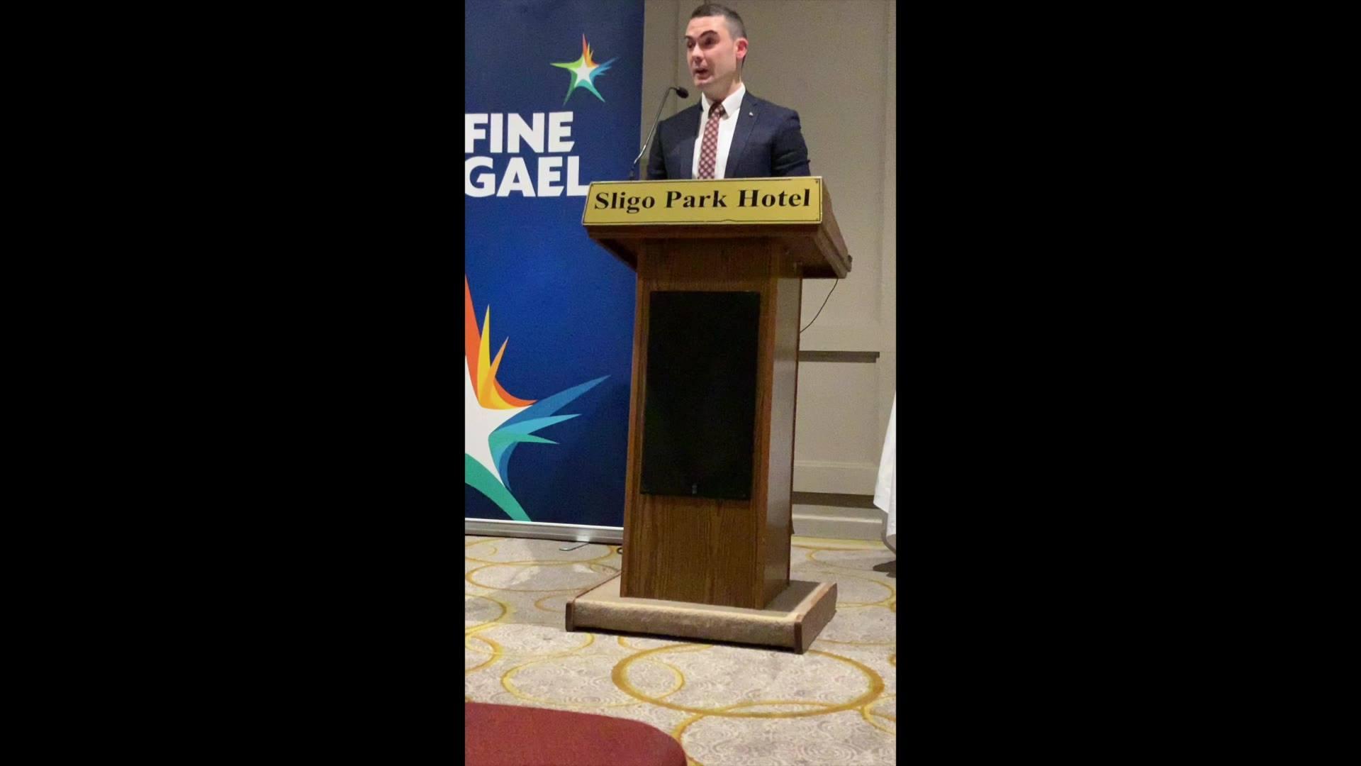 My Speech from Sligo - Strandhill Selection Convention