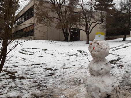 Es schneit.....