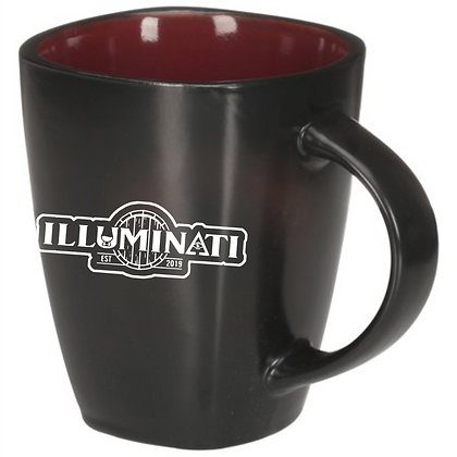 12 oz Stone ware Coffee mug (Illumanati)