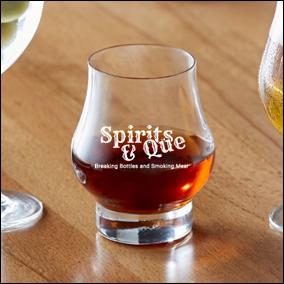 Master Reserve 10.5 ounce glassware (Spirits & Que)