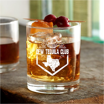 7 or 10.25 ounce rock glass (tequila club)