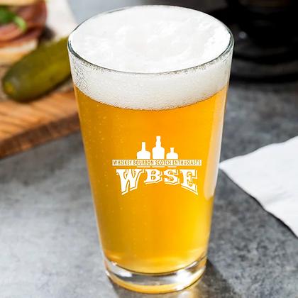 16 oz pint glass WBSE