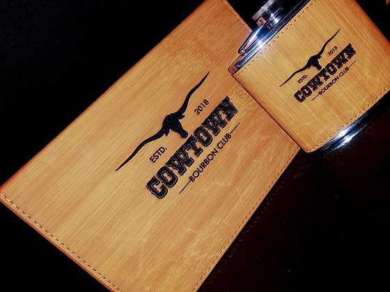cowtown Flask set