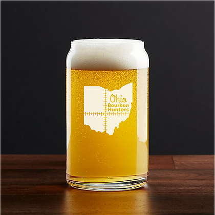 16 oz beer can glass (OBH)