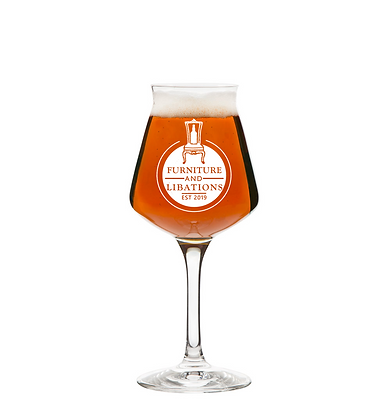14 oz stemmed beer glass (IR&L)