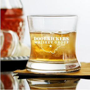 DOORKICKERS 8.5 OUNCE CURVED BOURBON