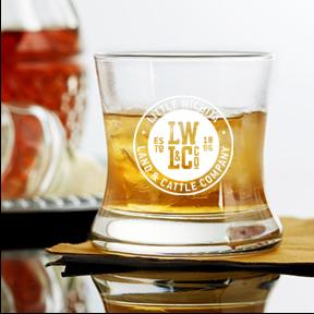 8.5 ounce curved bourbon (LW)