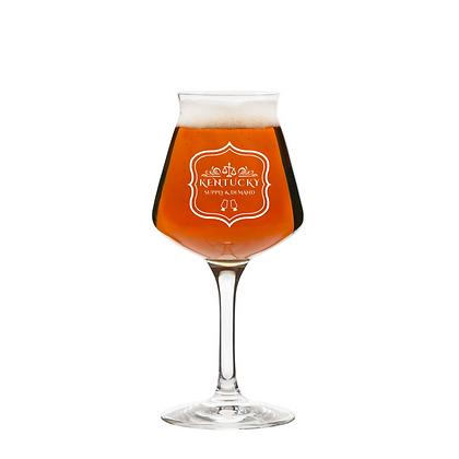 14 oz stemmed beer glass (Kentucky Supply)