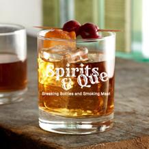 10.25 oz rock glass (Spirits & Que)