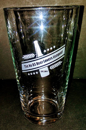 16 OUNCE PINT GLASS