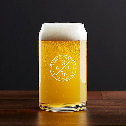 GLWC BEER CAN GLASS