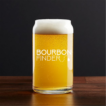 16 oz beer can glass (FINDER)