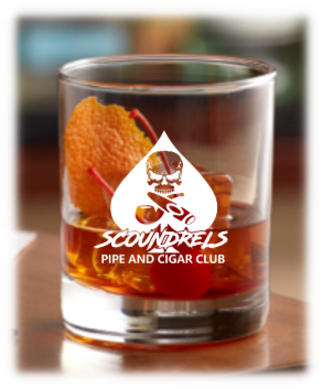 Scoundrels Rocks glass