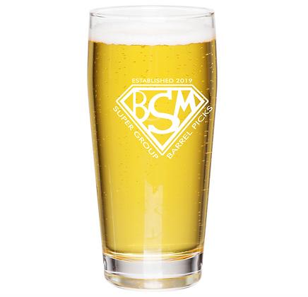 the Willie glass 16 oz (BSM)