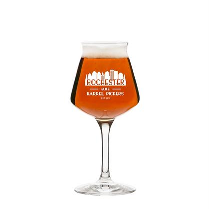 14 oz stemmed beer glass (Rochester)