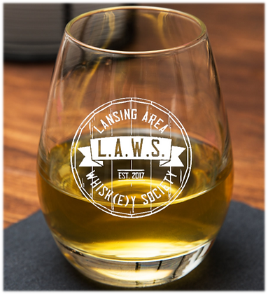 7 ounce spirit glass (IOWA)
