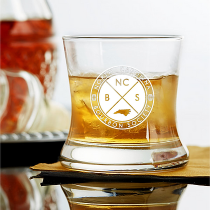 Curved Bourbon Glass 8.5 OZ  NCBS