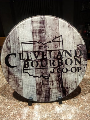 Cleveland Bourbon Co op Cutting Board