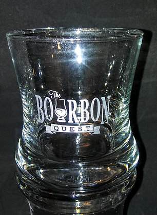 Bourbon Quest Curved Bourbon Glass