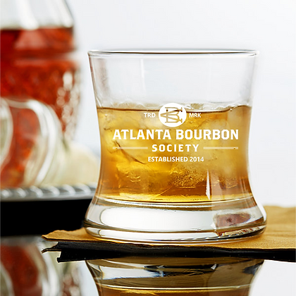 8.5 oz curved bourbon glass ABS