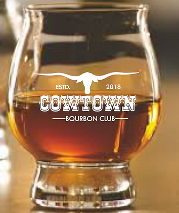 The Official Trail Glass 8 OZ (Cowtown)