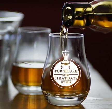8 oz whiskey taster (F&L)