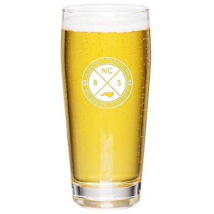 the Willie glass 16 oz (NCBS)