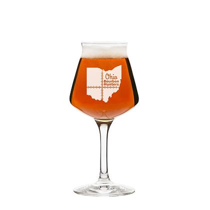 14 oz stemmed beer glass (OBH)