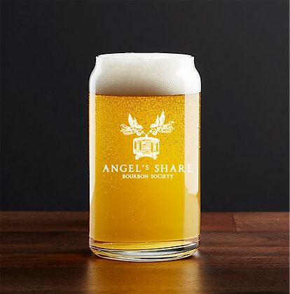 16 oz beer can glass (Angels share)