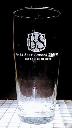 NO BS BEER LOVERS GLASSWARE