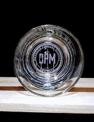 BOTTOM ENGRAVED BPM Glass
