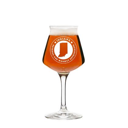 14 oz stemmed beer glass (INDIANA)