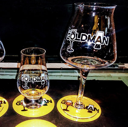 the Goldman Glassware