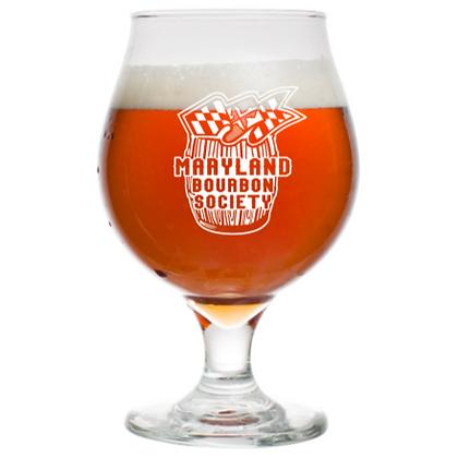 16 oz tulip Beer Glass (Maryland)