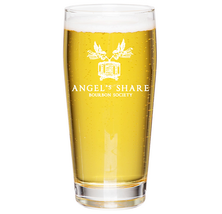 16 oz willie glass (angels share)