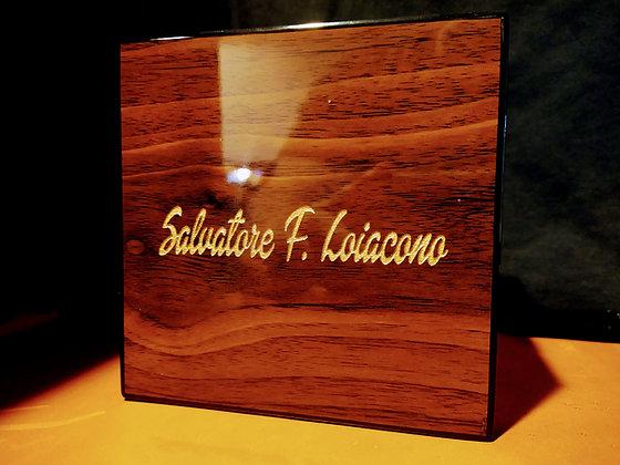 Personalized Cigar foldable ashtray set