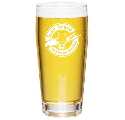 16 oz willie glass (long island)