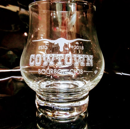 Master Reserve 10.5 ounce glassware (Cowtown)