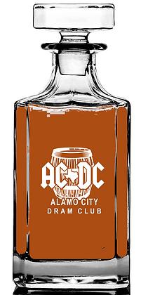 Alamo 25 ounce lead free decanter