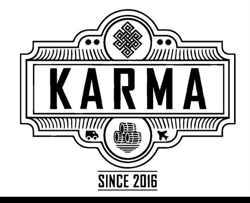 Karma Gildan 12500 Dryblend Hoodie