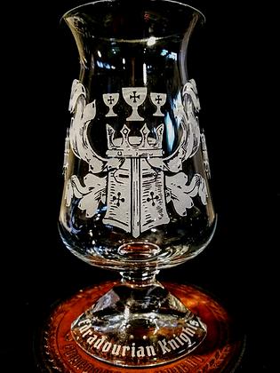 7.1 ounce Edradourian Knights Tuath Glass