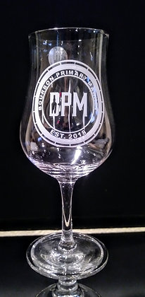 7 ounce stemmed tulip whiskey glass (BPM)