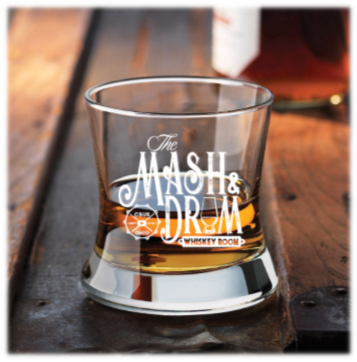 Curved Bourbon Glass (Mash)