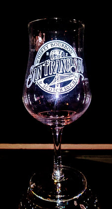 7 ounce stemmed tulip whiskey glass (sf)