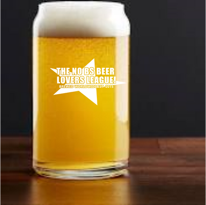 no bs beer can glass