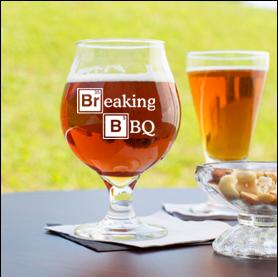 16 ounce tulip beer glas (Breaking BBQ)