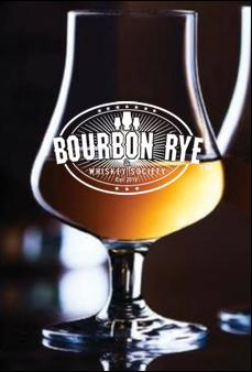 Bourbon Rye 6.5 ounce stemmed Whiskey