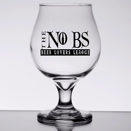 the No Bs 16 ounce Tulip Glass